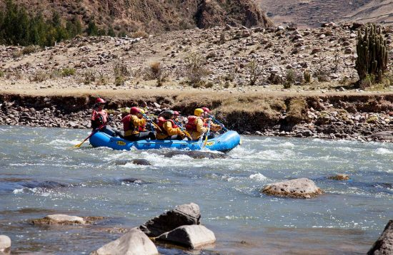 Rafting dans la Vallée Sacrée